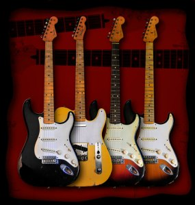 Fender Road Worn Guitars