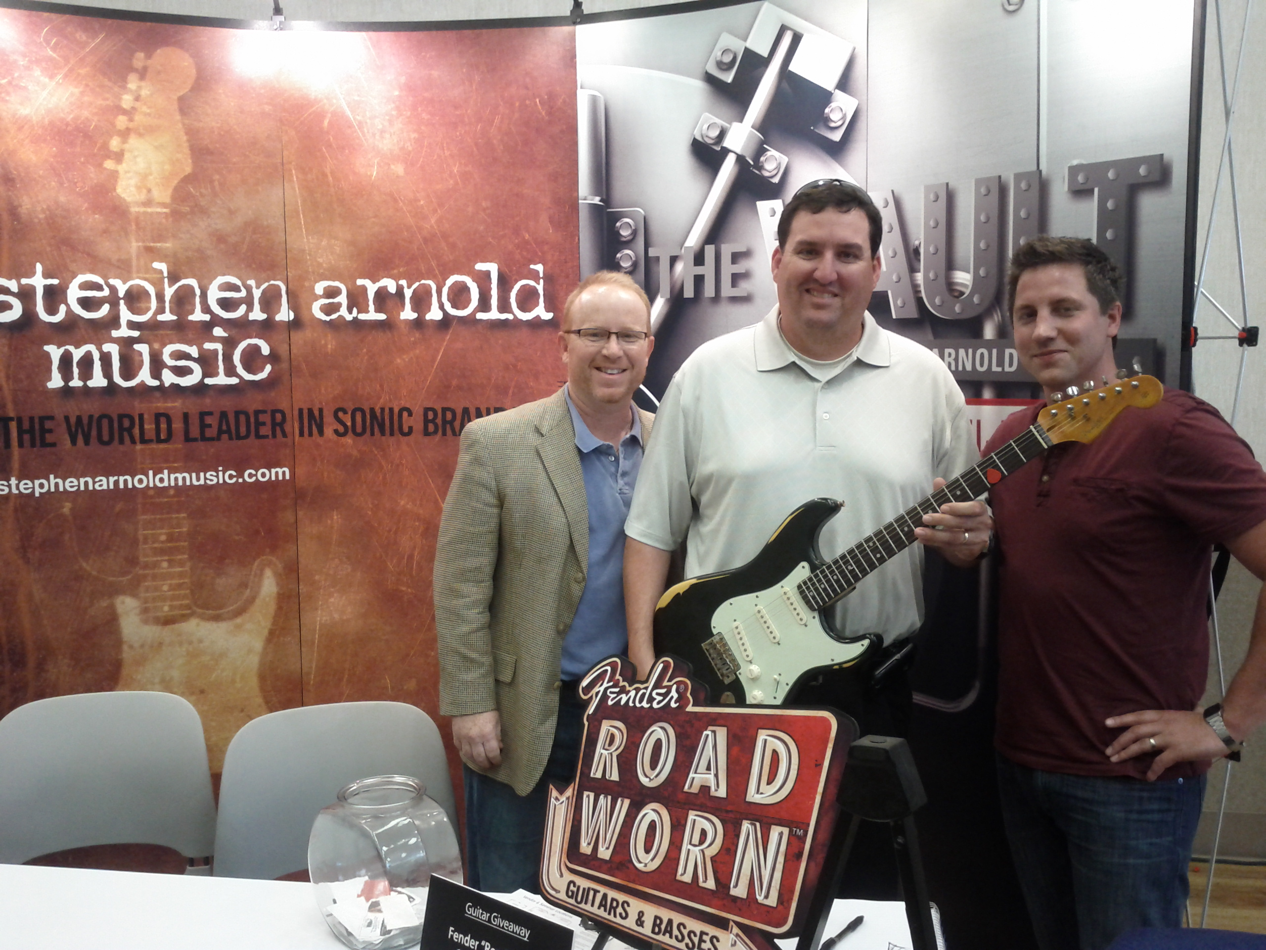 Road Worn Guitar Winner - Stephen Arnold Music