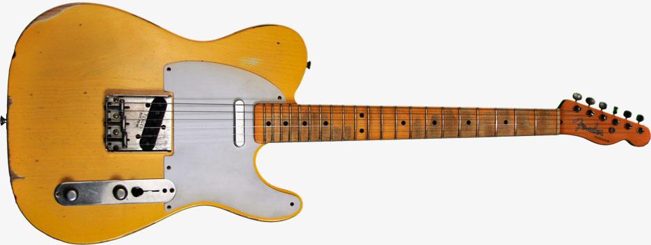 Guitar Fender Drawing Fender Road Worn Blonde