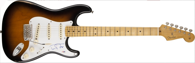 Win this Tom Petty Signed Strat!!