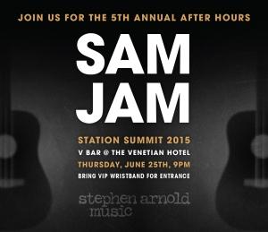 SAM JAM 2015