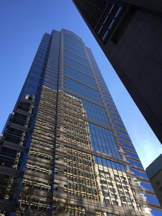 One Liberty Place from Street Level
